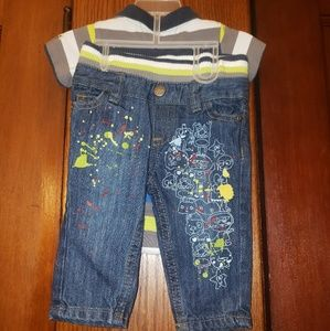 Truly Scrumptious by Heidi Klum Infant Outfit